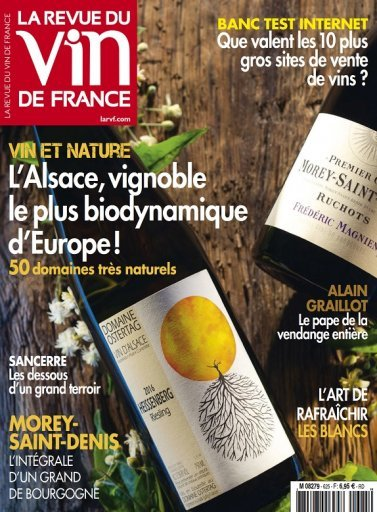 La Revue du Vin de France October 2018