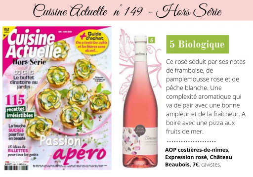Cuisine Actuelle - Special issue n°149 - May2020